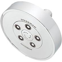Speakman S-3010 Neo Anystream High Pressure Adjustable 2.5 GPM Shower Head, Polished Chrome