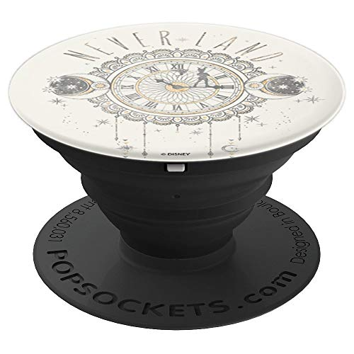 Disney Peter Pan Neverland Boho Clock Moon & Stars - PopSockets Grip and Stand for Phones and Tablets