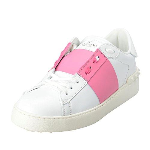 Valentino Garavani Women's Rockstud Two Tones Open Fashion Sneakers Shoes US 10 IT 41;