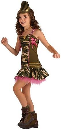 Niños Ejército Camo Camuflado soldado vestir jugar Fancy Dress Costume edad 4-12