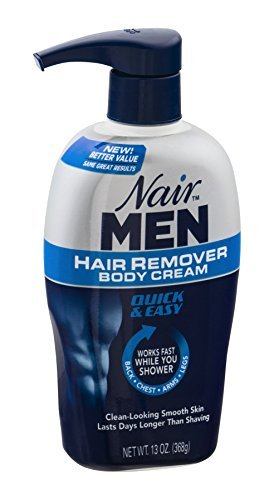 Nair For Men Hair Removal Body Cream 13 oz (Pack of 6) by Nair