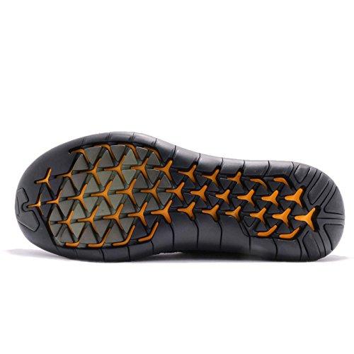 Nike Mens Libera Rn Movimento Flyknit 2017 Scarpa Nero / Grigio Scuro Antracite Volt 9.0 (11 D (m) Ci, Sequoia / Cargo Kaki Nero)