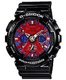 Casio G-Shock Ana-Digi Speed Indicator Red Dial Men's watch #GA120B-1A, Watch Central
