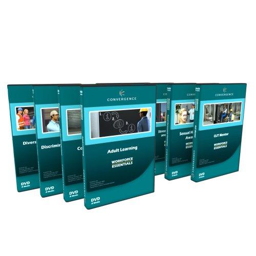 Convergence Training C-075 Human Resource Training Video DVD Set (Pack of 9)