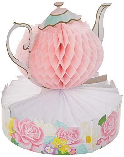 Floral Tea Party Centerpiece
