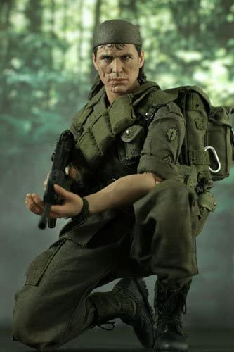 Hot Toys Hot Toys Movie Masterpiece Platoon 1//6 Figure Bob Barnes Sergeant