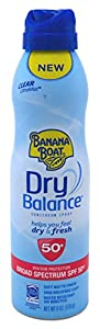 Banana Boat Dry Balance Continuous Spray Spf50+ 6 Ounce (177ml)