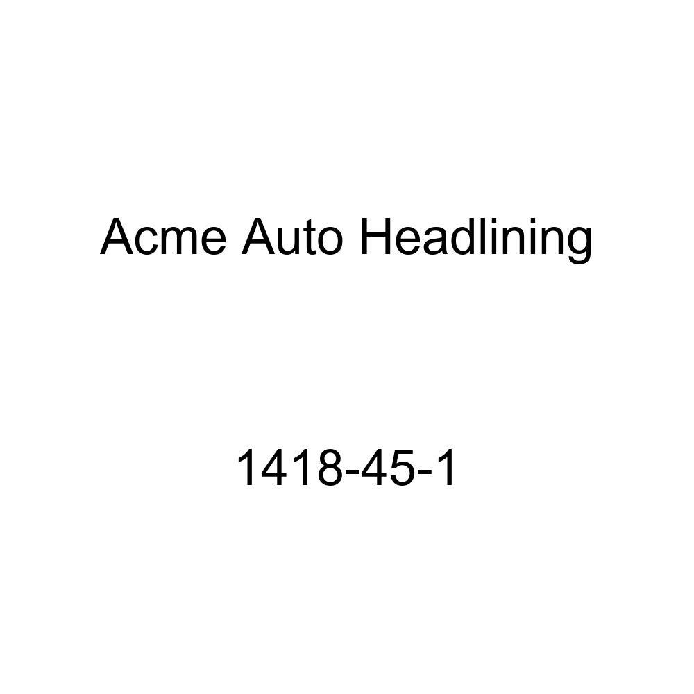 Acme Auto Headlining 1418-45-1 Gray Replacement Headliner 1949-52 Chevrolet, Oldsmobile /& Pontiac 2 Door Coupe 7 Bow