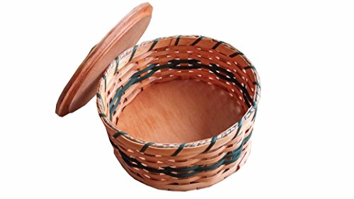 Hand Woven Candy Basket, Amish Made In Ohio