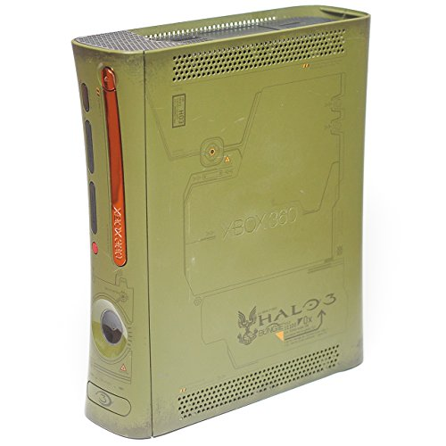 [Replacement Special Edition Halo 3 Xbox 360 Console - No Cables or Accessories] (Microsoft Xbox 360 20gb Hard Drive)