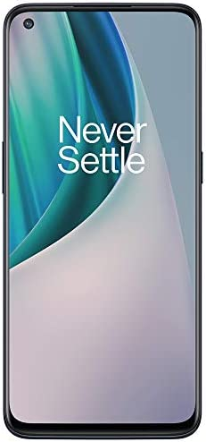 """OnePlus Nord N10 5G (128GB, 6GB) 6.49"""", 90Hz Refresh Rate, Snapdragon 690, Dual SIM (Euro 5G /Global 4G LTE) GSM Unlocked (T-Mobile, AT&T, Metro) International Model (Midnight Ice, 64GB SD Bundle) WeeklyReviewer"""