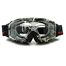 Night Vision Ski Goggles, Cloudy Day Snowboard Sunglasses, Yellow or Plano Lens Hunting Goggles, Anti-fog with RX Insert & Case