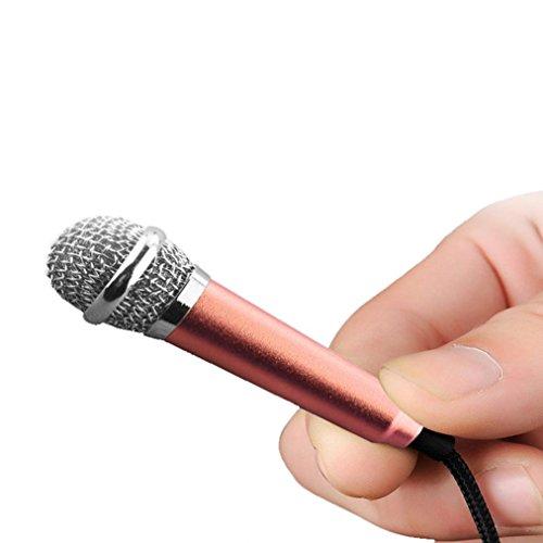 3.5mm Clip On Mini Lapel Mini Microphone For Mobile Phone (Blue) - 7