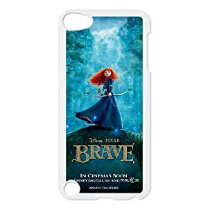 Ipod Touch 5 Phone Case Whte Disneys Brave F6497293