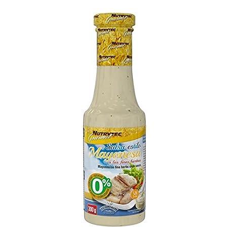 Nutrytec Platinum Series - salsa 0 calorías gourmet 300 ml - Amaizin Mayo