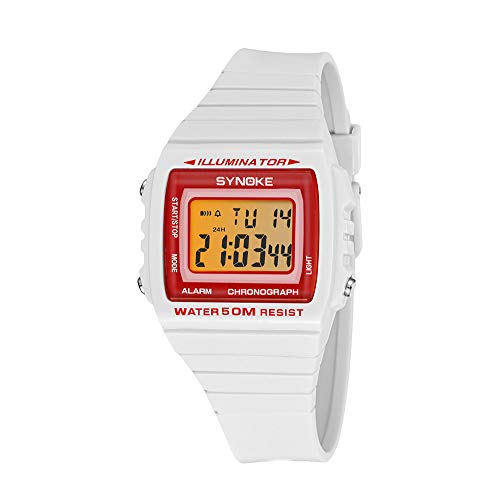 Willsa Men's Sports Watches Digital Watch Waterproof Male Chronograph Double Time Wristwatches