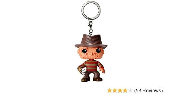 Funko POP Keychain: Horror - Freddy Kruger Toy Figure