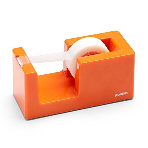 Poppin Tape Dispenser - Orange by Poppin