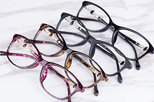 Radiación Ultra Brown 2 0x Para Mujer Purple2 Moda Hd Zjexjj Lectura Tamaño Gafas De Ligeras color wq0ntp