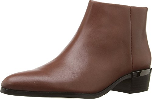 COACH Women's Montana Dark Saddle Soft Veg Leather Boot