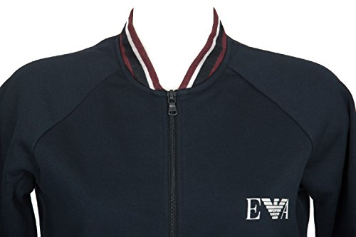 Armani Marine Sleeve Zip With Long Jacket Emporio T7PqwdYT