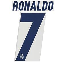 RONALDO #7 Real Madrid Home 2016-2017 Soccer Jersey Football Shirt Print Name Number Set Adults Transfer