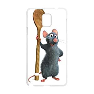 SamSung Galaxy Note4 phone cases White Ratatouille cell phone cases Beautiful gifts TRIJ2784581