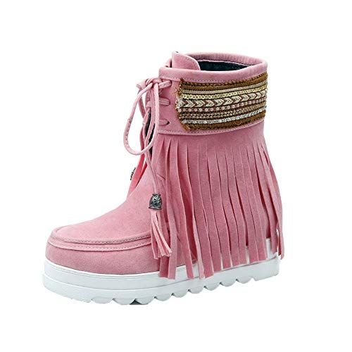 con colori Stivaletti assortiti punta rosa tacco caviglia Tsmxh110532 a Mini Donna Aalardom wE5q8n
