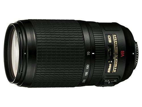 2161 Lens - Nikon 70-300mm f/4.5-5.6G ED IF AF-S VR Nikkor Zoom Lens for Nikon Digital SLR Cameras (Certified Refurbished)