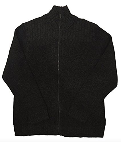 Zip Cable Sweater - 1