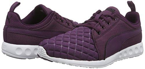 Runner Puma Plum Viola Quilt violett black Da 02 Wn's Carson Donna Corsa italian Scarpe 55rpaFA