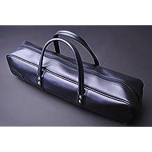 Yoshihiro Synthetic Leather Knife Culinary Bag Japanese Sushi Chef Tool (Black)