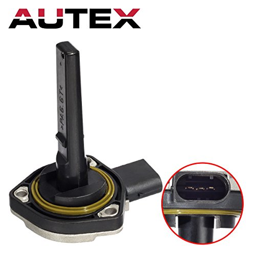 AUTEX 12617508003 Engine Oil Level Sensor compatible with BMW 323Ci & 328Ci 2000/BMW 323i 1998-2000/BMW 325Ci & 330Ci 2001-2006/BMW 325i & 325xi 2001-2005/BMW 335d 2009-2010/BMW 525i 2001-2007