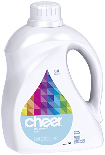 Cheer Liquid Detergent - 100 oz - Free & Gentle