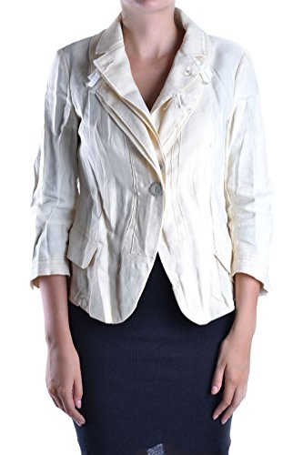 - MARITHÈ + FRANÇOIS GIRBAUD Women's Mcbi200001o Beige Linen Jacket