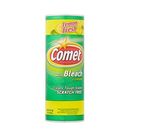 Lemon Fresh with Bleach Cleaner, 21oz Pack of - Comet Clearance Sale