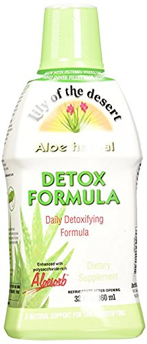 Lily of The Desert Aloe Herbal Detoxifying Formula, 32 Fluid Ounce (Lily Of The Desert Aloe Vera Gel Ingredients)
