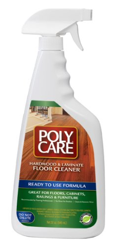 PolyCare Ready-to-Use Floor Cleaner, 32oz-1qt