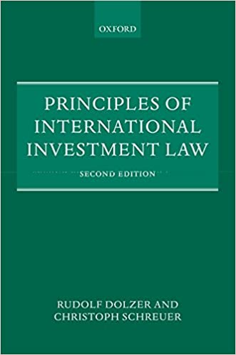 Book's Cover of Principles of International Investment Law (Anglais) Broché – 19 décembre 2012