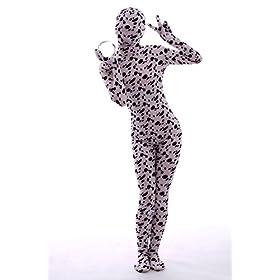 - 41hwKpQ8pTL - Halloween Cosplay Full Bodysuit Animal Pretend Play Spotty Dog Dress Up Zentai Costume
