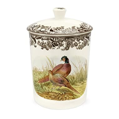 Spode Woodland Medium Canister with Pheasant