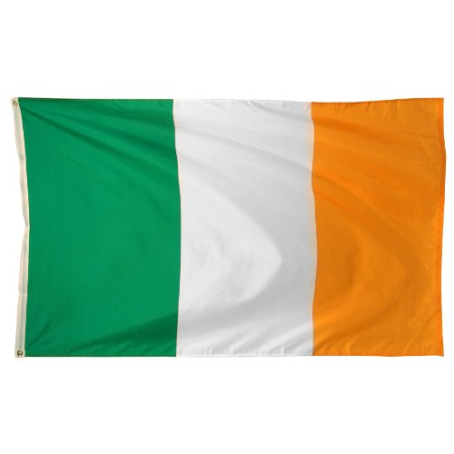 Online Stores Ireland Printed Polyester Flag, 3 by 5-Feet