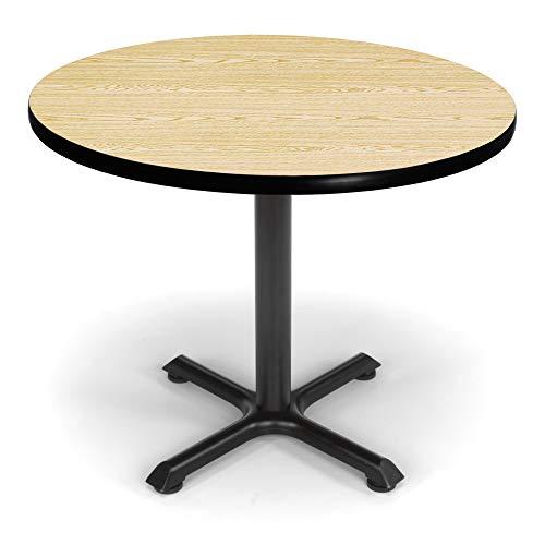 OFM XT36RD-OAK Round Multi-Purpose Table, 36
