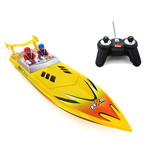 MqbY Remote Control Toy Boat and Accessories