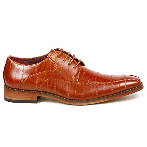 Uv Signature G55000-51 Hommes Lace Up Oxford Robe Chaussures Marron