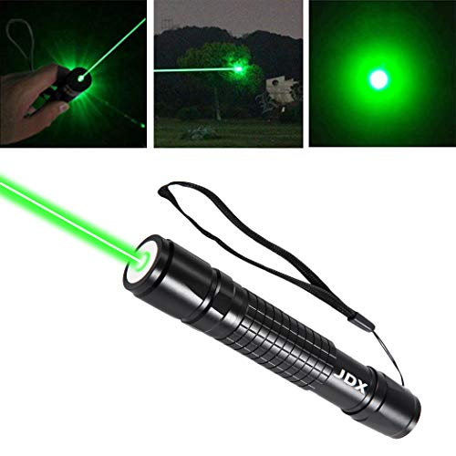 Gold Laser Pointer - JDX Tactical Green Hunting Rifle Scope Sight Laser Pen, Demo Remote Pen Pointer Projector Travel Outdoor Flashlight, LED Interactive Baton Funny Laser,The cat and dog toy