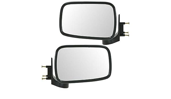 86-93 Mazda Pickup Left Driver Manual Chrome Mirror