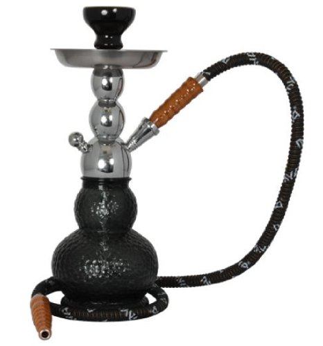 Black Mya Econo Gelato Hookah with Accessories and free charcoal