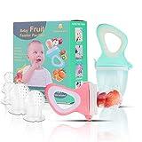 Baby Fruit Feeder Pacifier(2 Pack) - Baby Food Feeder - Infant Fruit Teething
