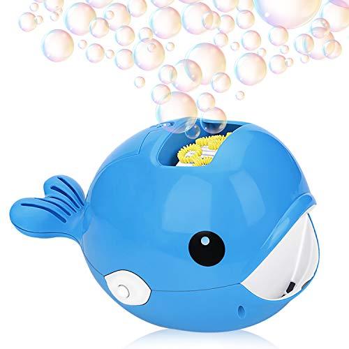 NextX Bubble Machine, Automatic Bubble Blower for Kids, Bubble Maker Bathtime Toys Party Supplies